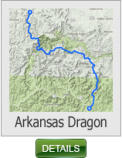 The Arkansas Dragon Ride Map