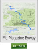 Mt Magazine Ride Map